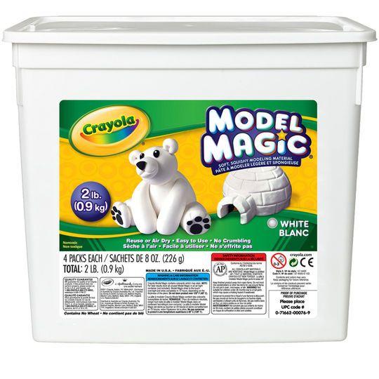 White Model Magic - 907g Bucket - Each