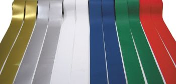 Christmas Fadeless Straight Card Border Rolls - Assorted - 57mm x 12.5m - Pack of 12