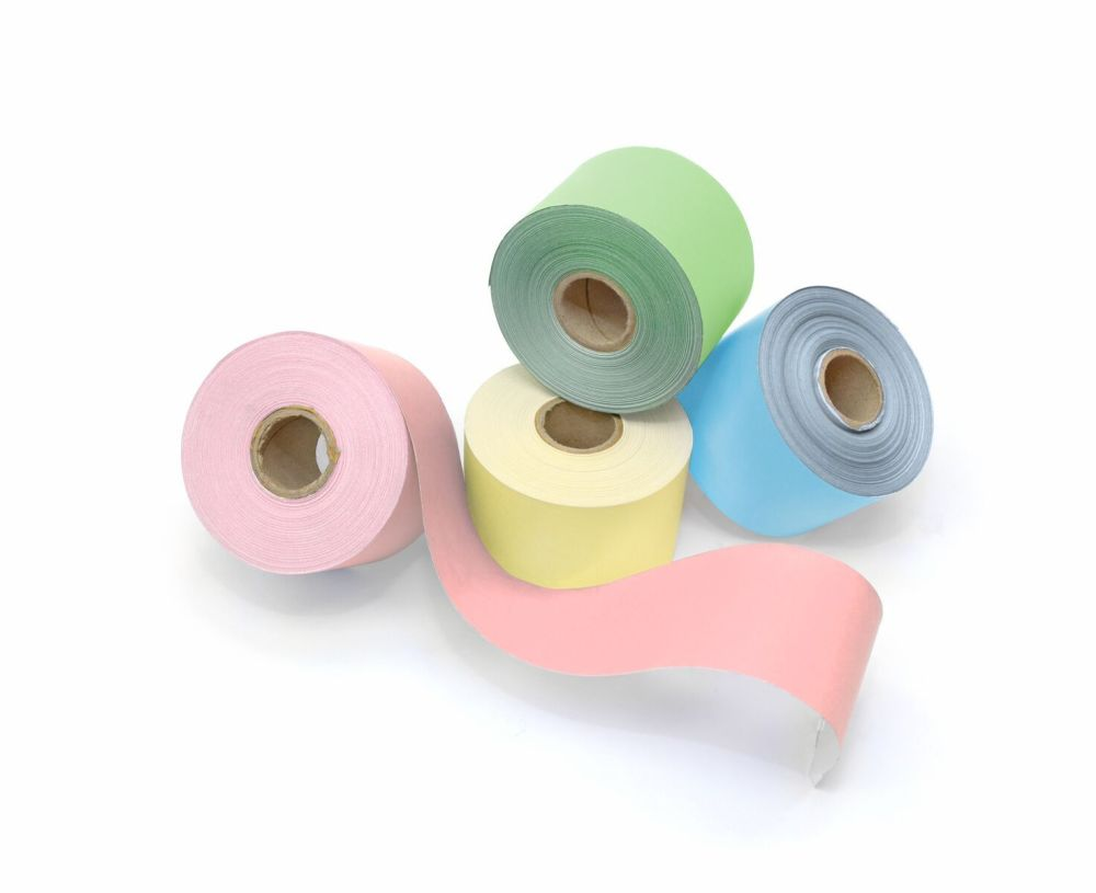 Pastel Poster Paper Straight Edge Border Rolls - Assorted - 48mm x 50m - Pa