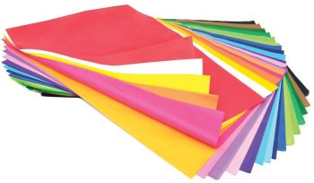 Tissue Paper Sheets - Assorted - 508 x 762mm - Pack of 480 sheets