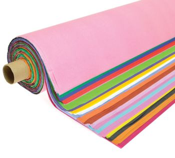 Tissue Paper Roll - Assorted - 508 x 762mm - Roll of 200 sheets