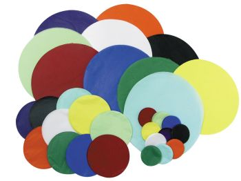 Tissue Paper Circles - Assorted Colours & Sizes - Pack of 1440
