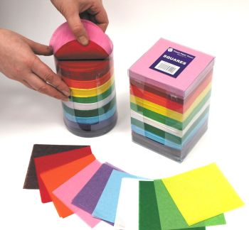 Tissue Paper Square Tower Bumper Pack - Assorted - 10cm - Pack of 4600