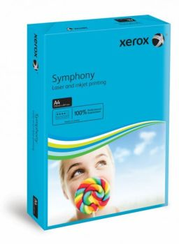 Xerox A4 Symphony Dark Blue Card - 200 microns/160gsm - 210 x 297mm - Pack of 250