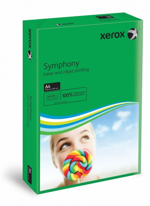 A4 Xerox Symphony Dark Green Card - 200 microns/160gsm - 210 x 297mm - Pack