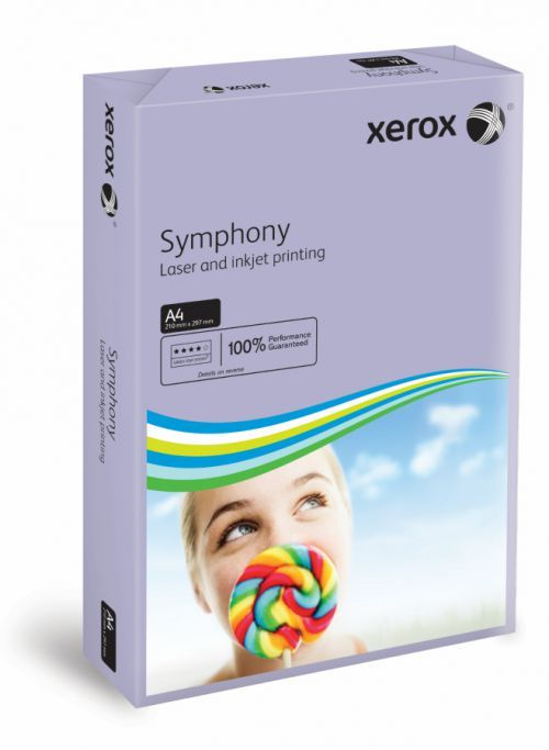 A4 Xerox Symphony Lilac Card - 200 microns/160gsm - 210 x 297mm - Pack of 2