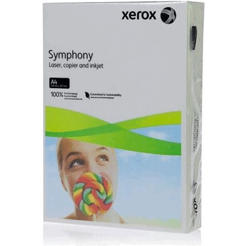 A4 Xerox Symphony Grey Card - 200 microns/160gsm - 210 x 297mm - Pack of 25