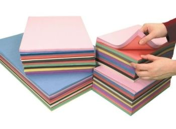 Sugar Paper Stack - 2500 x A4 & 1250 A3 Assorted Sheets - Pack of 3750