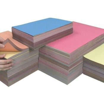 Sugar Paper Stack - 1500 x A4, 750 x A3  & 500 A2 Assorted Sheets - Pack of 2750