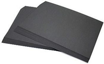 Black A1/841 x 594mm 100gsm Sugar Paper - HE488351 - Pack of 250
