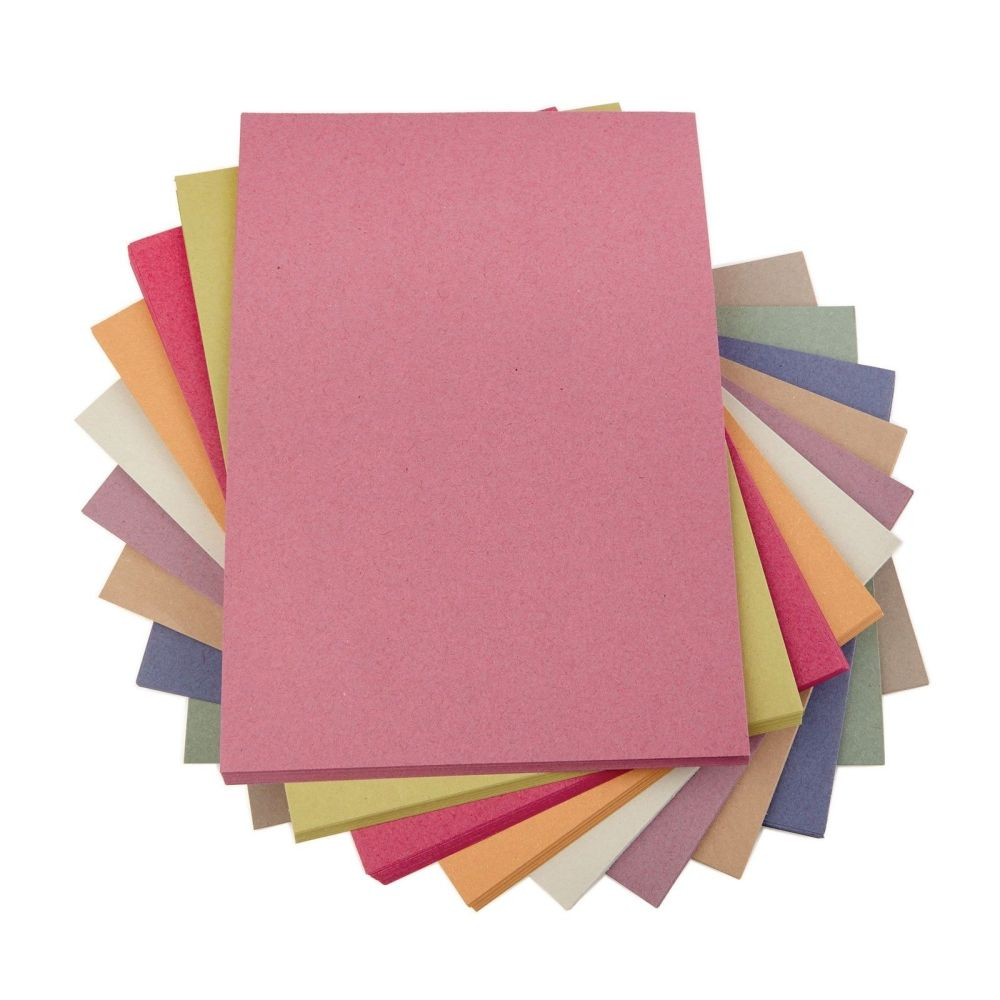 Assorted A1 Sugar Paper - 100g - 594 x 841mm - Pack of 250
