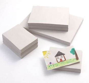Sugar Paper Stack - 1500 x A4, 750 A3 & 200 A2 White Sheets - Pack of 2450