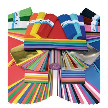 Classroom Essentials Paper & Card Pack - Assorted - Bumper Pack