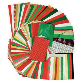 Festive Crafts Papers Pack - Assorted - A3 & A4 - Pack of 430
