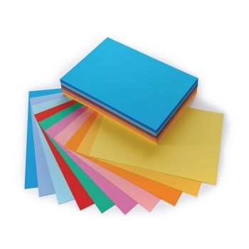 Vanguard A4 Single Coloured Card - Please Select Colour - 230microns/175-185gsm - Pack of 200