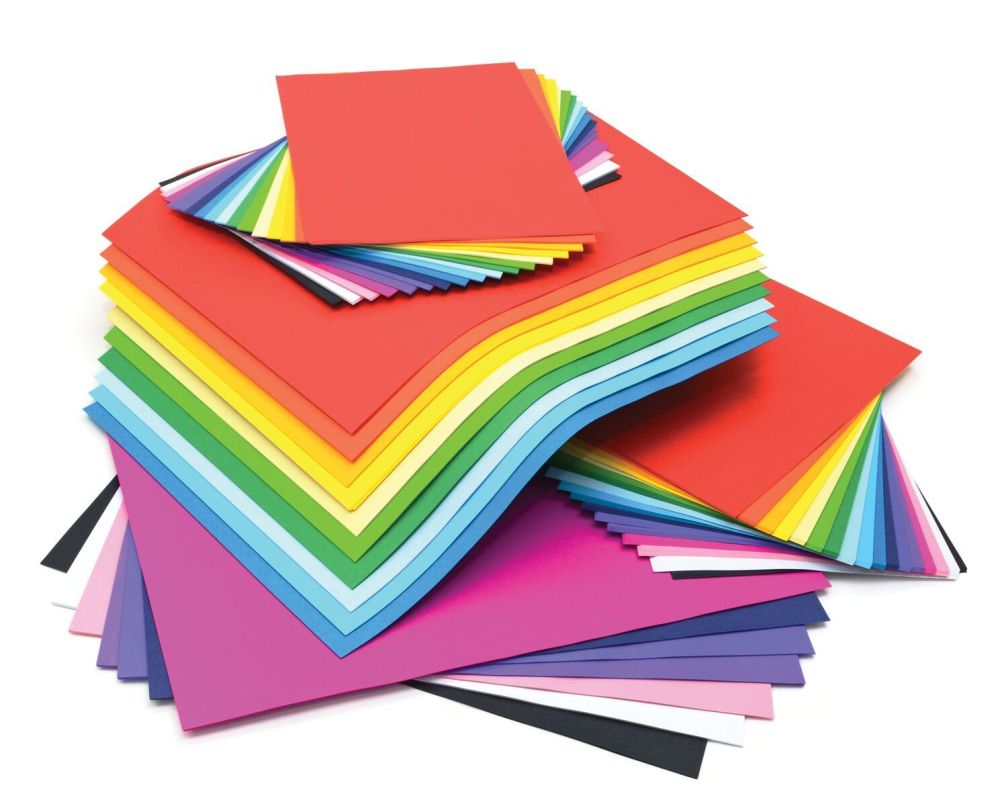 Lightweight Vivid A4 & A3 Card Stack - Assorted - 125g - Pack of 375