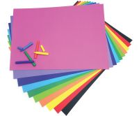 Bright Art Paper - Assorted - 125gsm - 500 x 700mm - Pack of 100
