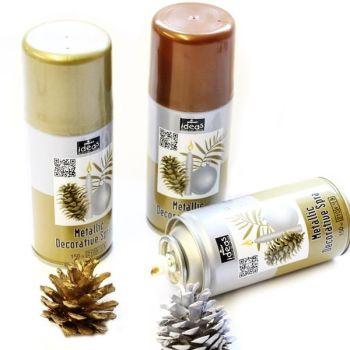 Metallic Aerosol Spray - Please Select Colour - 150ml - Each