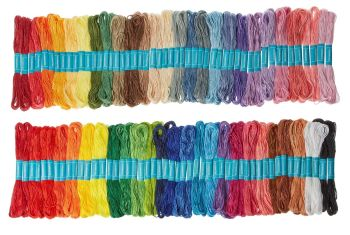 Classmates Embroidery Skeins - Assorted - 8m - Pack of 100