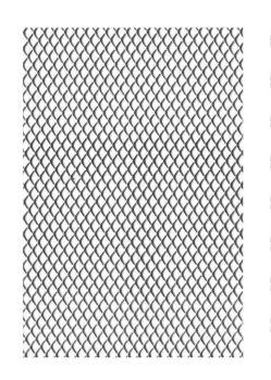 Aluminium Medium Wire Mesh - 0.5 x 3m Roll- Each