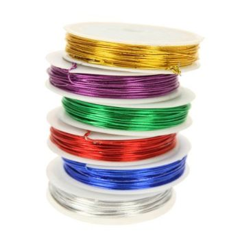 Craft Wire - Assorted - 12m - Pack of 6
