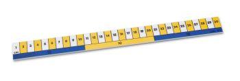 Classmaster Early Learning Ruler - 30cm - Pack of 10