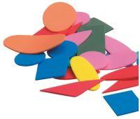 Eva Foam Geometric Shapes - Assorted - L-FV0001 - Pack of 200