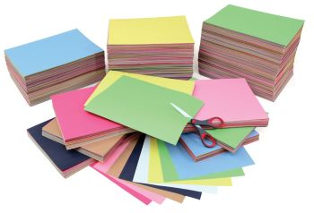 Bulk Nursery Remnant Construction Paper Pack - Assorted - 18kg Box