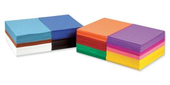 A4+ Construction Paper School Stack - Assorted - 228 x 305mm - Pack of 2400