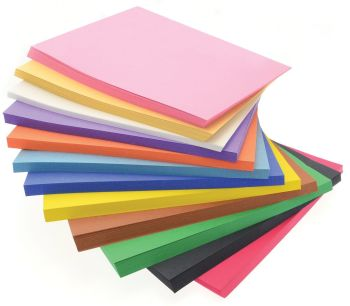 Heavyweight Construction Paper - Assorted - 228 x 305mm - Pack of 648