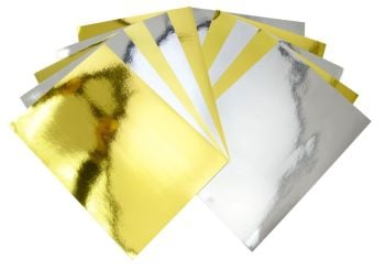 Mirror A4 Card - Assorted - 210 x 297mm - Pack of 10