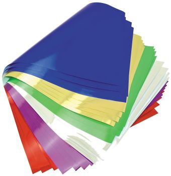 Metallic Foil Paper Sheets - Assorted - 85gsm - 305 x 457mm - Pack of 24