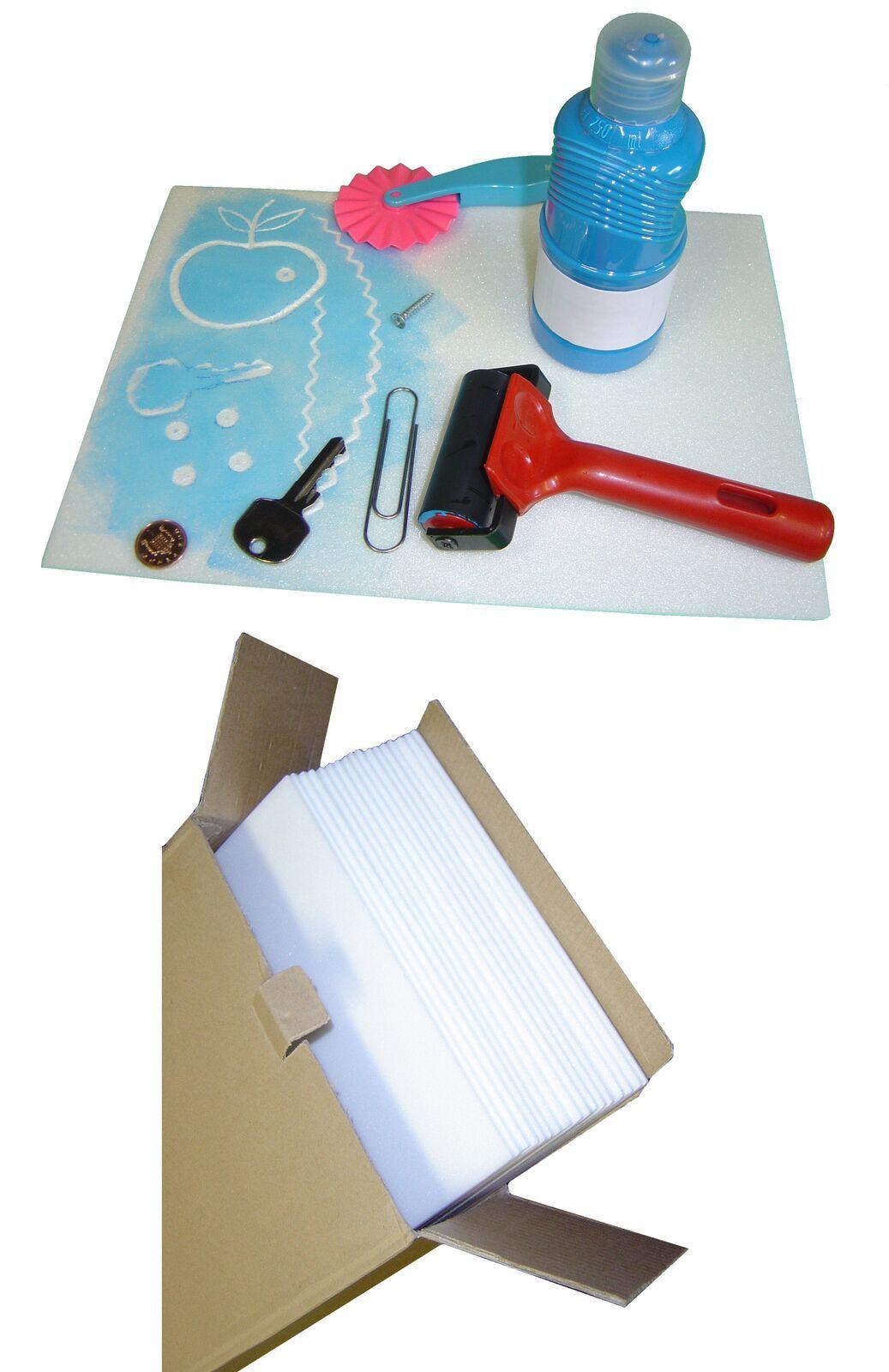 Safeprint Foam Sheets - 30 x 30cm - Pack of 25