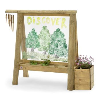 Plum Discovery Create and Paint Easel - 120 x 50 x 116cm - Each