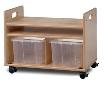 Easel Stand and Storage Trolley - 68 x 41 x 50cm - Each