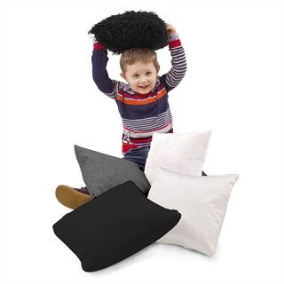 Black and White Sensory Cushions - Assorted - HE1683975 - Pack of 5