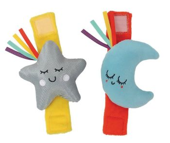 Wrist and Ankle Rattles - Pack of 2
