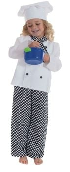 Chef's Role Play Fancy Dress Costume - 5-7 years - Per Set