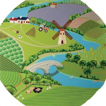 Farmyard Play Tray Mat - 88cm - Each