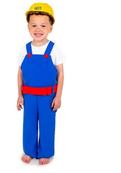 Builder's Role Play Fancy Dress Costume - 3-5 years - Per Set