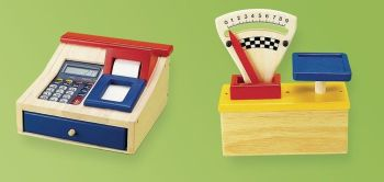 Cash Register and Scales - Per Set