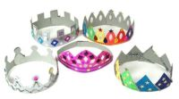Make Your Own Cardboard Crowns - Assorted - Pack of 12
