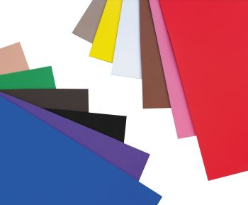 Eva Foam Self Adhesive Sheets - Assorted - 500 x 500mm - Pack of 10