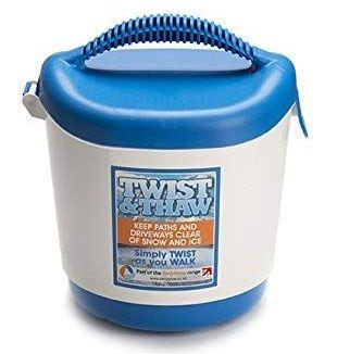 Hand Held Twist & Thaw Rock Salt Spreader - Holds up to 5kg - Each