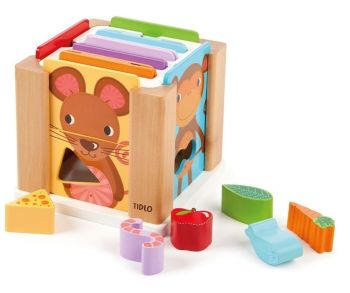 Explore Animal Sorting Cube - 18 x 16.5 x 18cm - Per Set