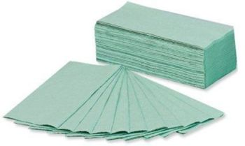 5 Star Green C-Fold Facilities Hand Towels -  One ply - 230 x 310mm - Pack of