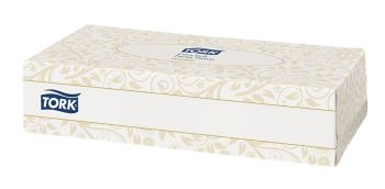 Tork Extra Soft Facial Tissues - 150 per Box - Pack of 24 Boxes