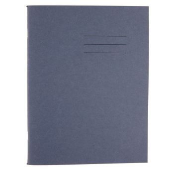 Dark Blue Cover Plain Page A4 Exercise Book - 80 Page - 210 x 297mm - Pack of 50