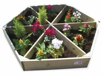 Hexagonal Gardening Wheel - 2000 x 2000 x 2000mm - Each