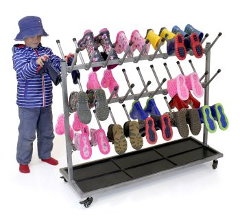 Wellington Boot Storage Rack - 98 x 40 x 110cms - Each